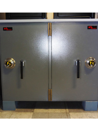 Non TL Rated Burglary Resistant Steel Plate Safes, Used Safes #15 – 1st Security