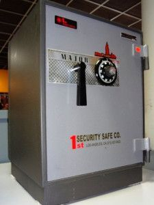 Non TL Rated Fire Resistant Safes, Used Safes #52 – Major