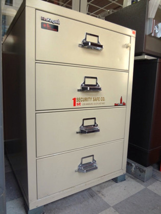 File Cabinets, Used Safes #64 – Fire King