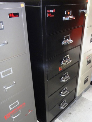 File Cabinets, Used Safes #99 – Fire King